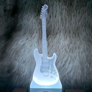 The Man In Black Show 3D LED Guitar Lamp